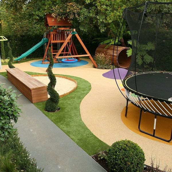 Back Yard Play Area Ideas for Kids