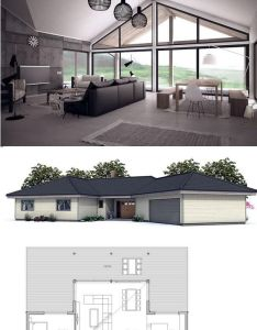 Small house floor plan with open planning area sq ft cost to build  also traumhaus zukunftige projekte pinterest modern and rh