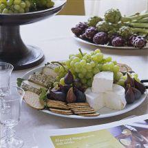 Ina Garten Cheese and Fruit Platter