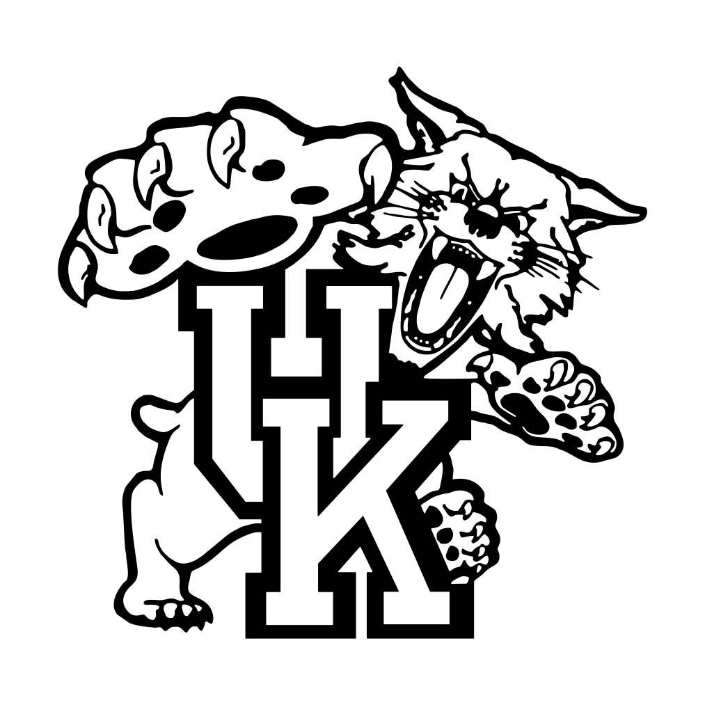 University of Kentucky Cornhole Graphics SVG Dxf EPS Png