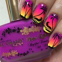 Palm Trees! - Nail Art Gallery | nail | Pinterest | Palm ...