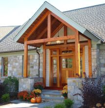 Add Timber Frame Porch Unique Welcoming