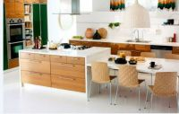 kitchen island dining table combo - Google Search | New ...