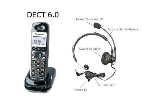 Panasonic DECT 6.0 Digital Expansion Cordless Handset for