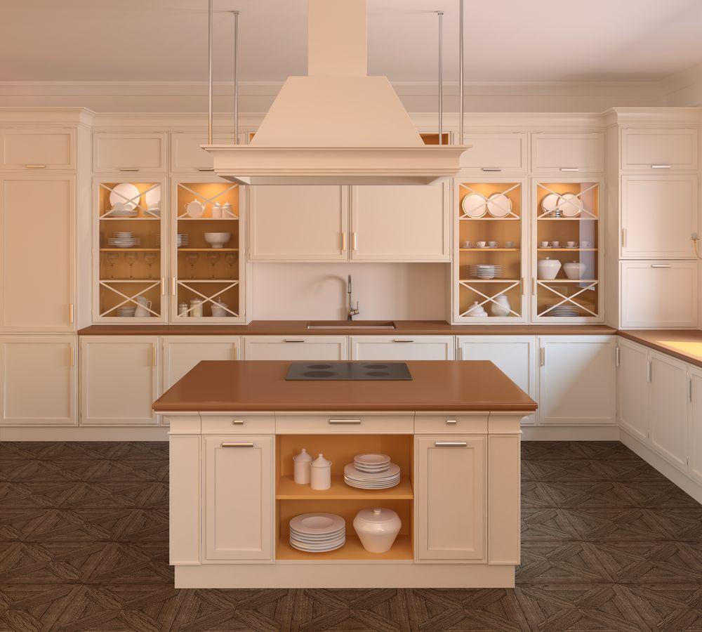 Moderne Landhausküchen Mit Kochinsel  Googlesuche