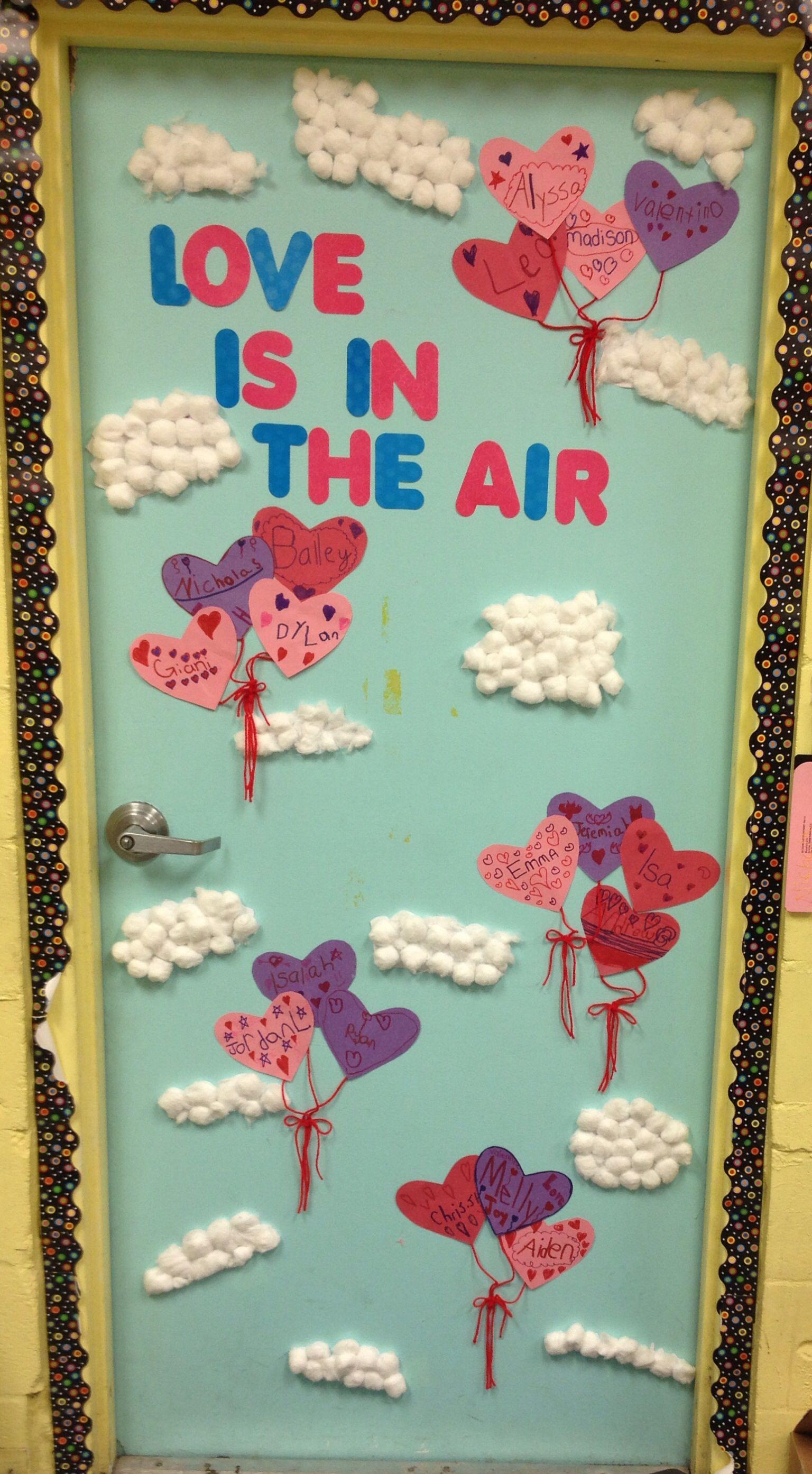 Mrs Nichols Valentine S Day Classroom Door