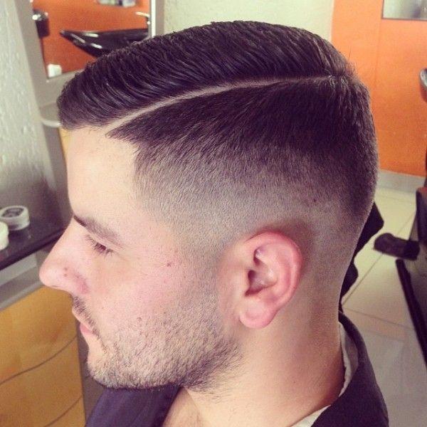 Fade Slick Razor Side Line Side Barbershops Pinterest 1