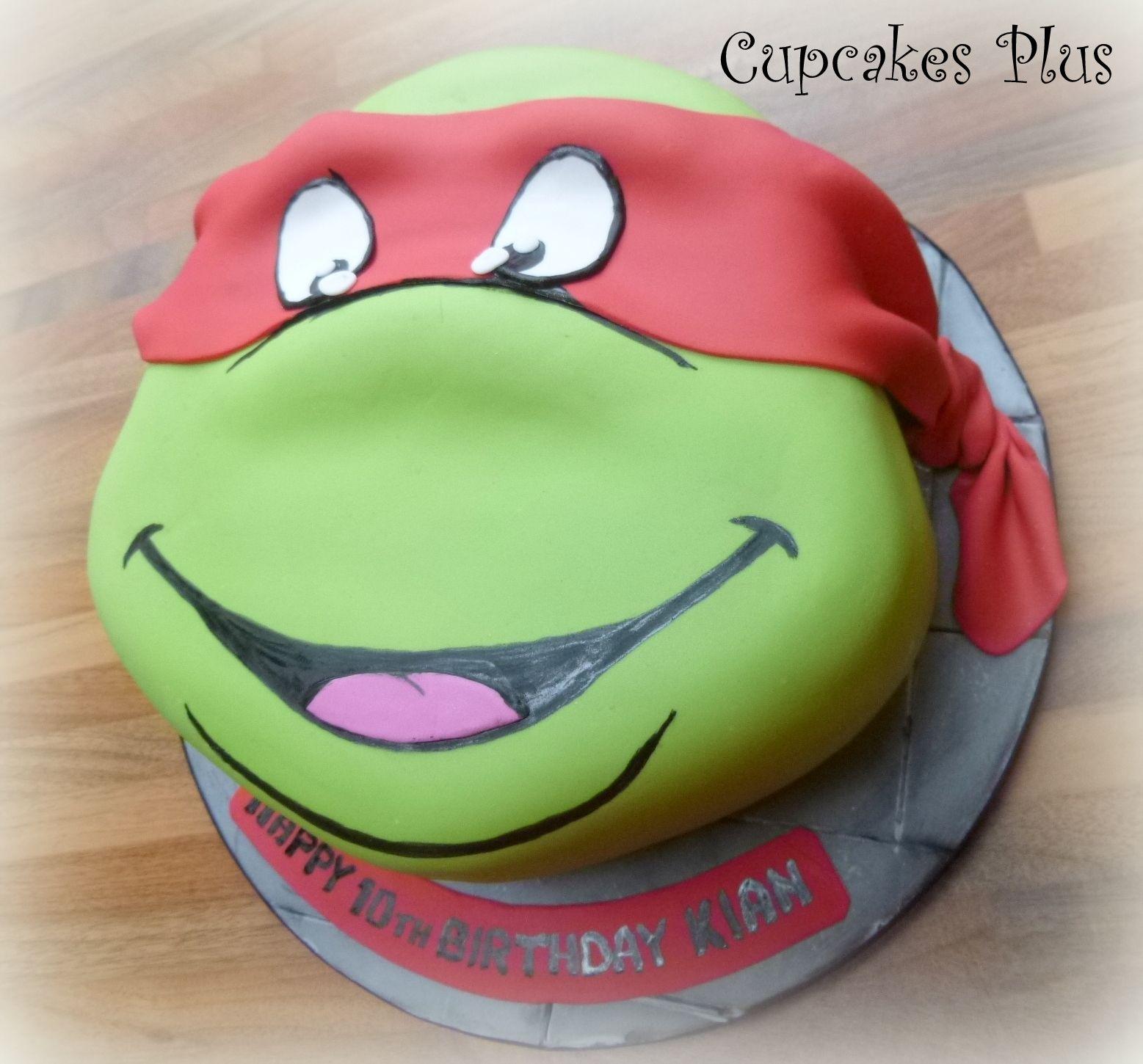Teenage Mutant Ninja Turtle Cake Ideas