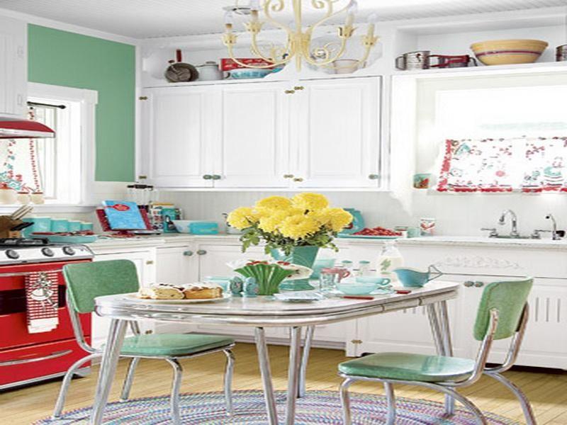 Vintage Style of 1950s Kitchen Design  Ferodoor  RETRO