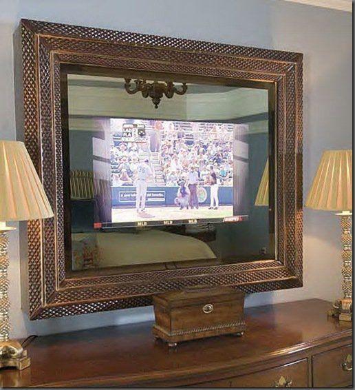 Flat Screen Mirror Way 2 Tv