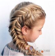 side dutch fishtail braid tutorial