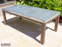 This Outdoor Dining Table was built to withstand the ...