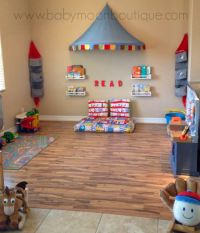 Decorate That Playroom. DIY playroom decor, reading corner ...