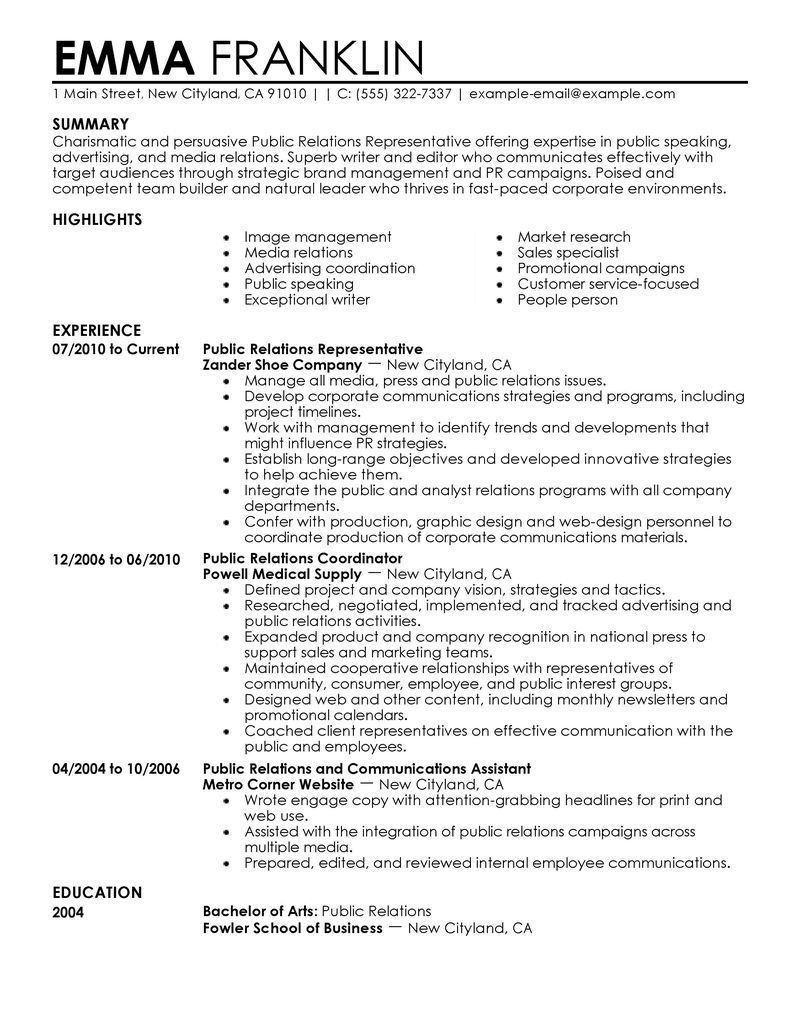 exciting media resume 6 social media resume coordinator