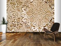 Alhambra Moorish Carved Stone Wall Mural | Moorish, Wall ...