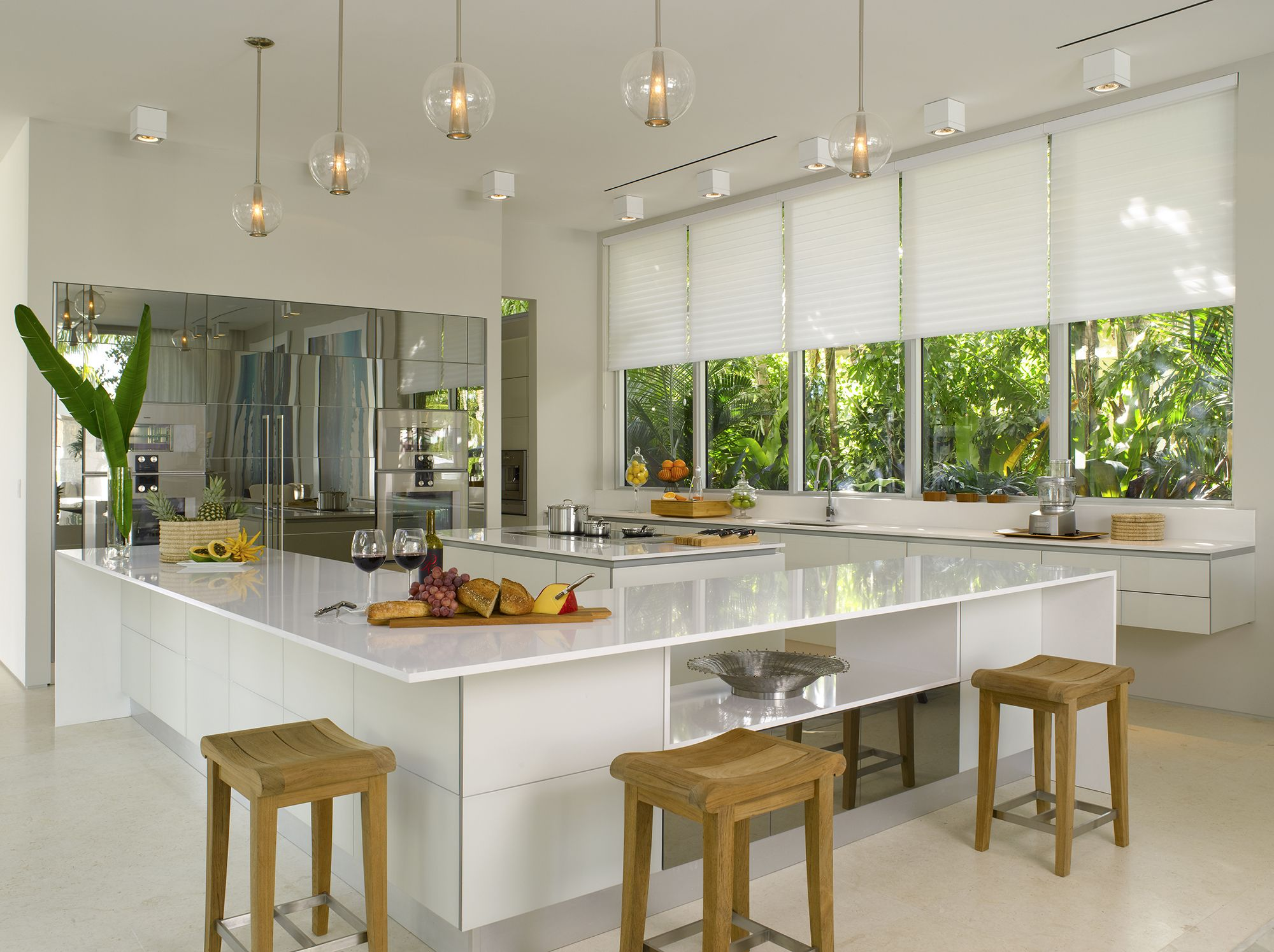 window treatments for kitchens fire extinguisher kitchen use a brilliant white design with silhouette