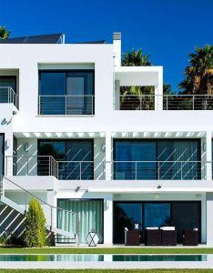 Algarve villa by staffan tollgard design group also architecture rh pinterest
