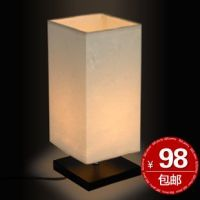 Japanese-style-brief-fashion-solid-wood-bedside-table-lamp ...