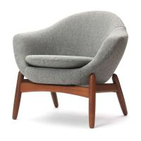 Lounge Chairs By Ib Kofod-Larsen   From a unique ...