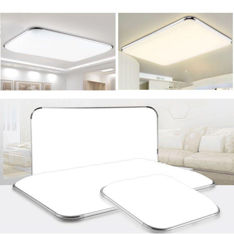 LED Deckenleuchte Badleuchte Kche Deckenlampe Dimmbar Wohnzimmer IP44 12W96W
