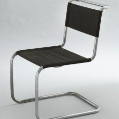 Marcel Breuer Chair Target Baby Shower Model B33 1927 28 Chrome Plated