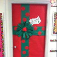 Mrs. Rector's Classroom Door decoration for christmas