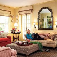Mix Patterns the Smart Way - 108 Living Room Decorating ...