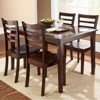 Dining Tables & Chairs | Cascade Faux Marble 5 Piece ...