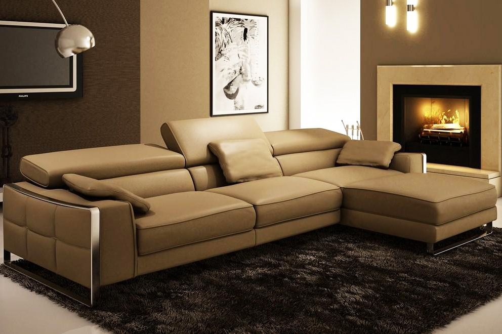 Best Contemporary Leather Sectionals Zoeroad Com Best