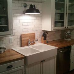 Ikea Kitchen Countertop Moen Bronze Faucet Our Small Diy Remodel In North Dakota