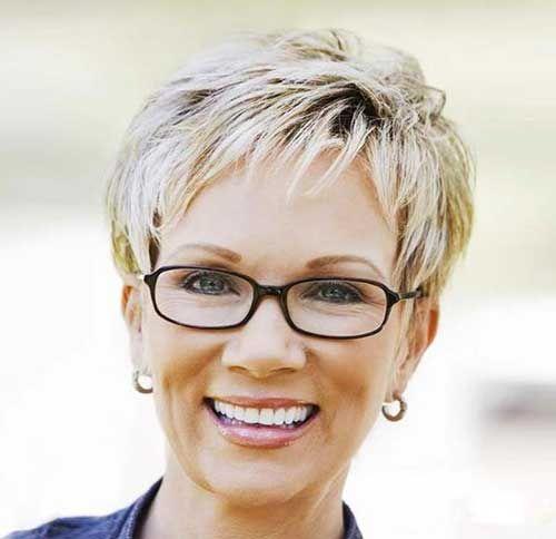 Short Haircuts For Mature Women Jette Pinterest Haarfrisuren