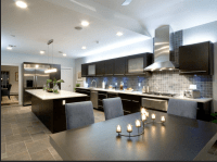 huge, ultra modern kitchen. looks like it would match our ...