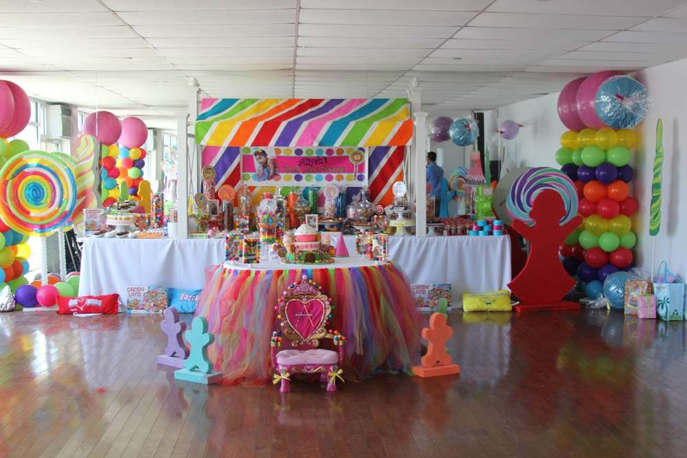 Candy Land Sweet Shoppe Birthday Party Ideas Tutu Table Party