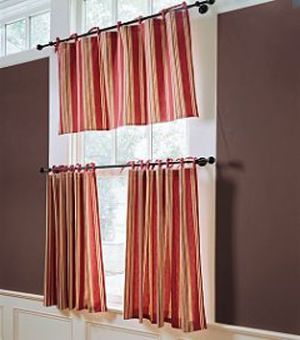 Cafe Curtains For Kitchen Window Treatments Pinterest Window