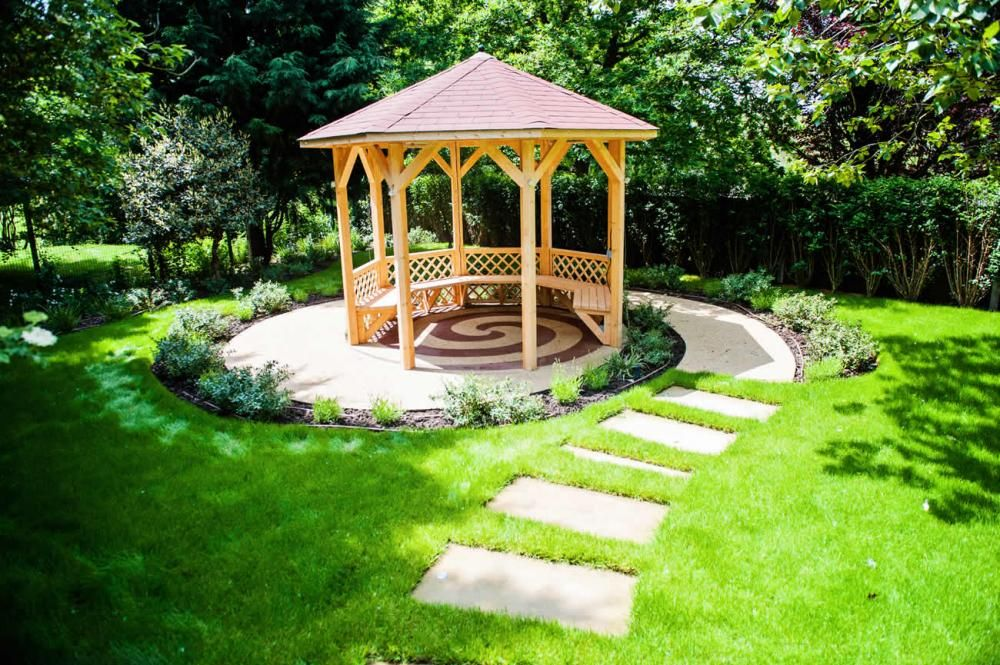 Garden Gazebo Gazebo Pinterest Gardens Pathways And Designs