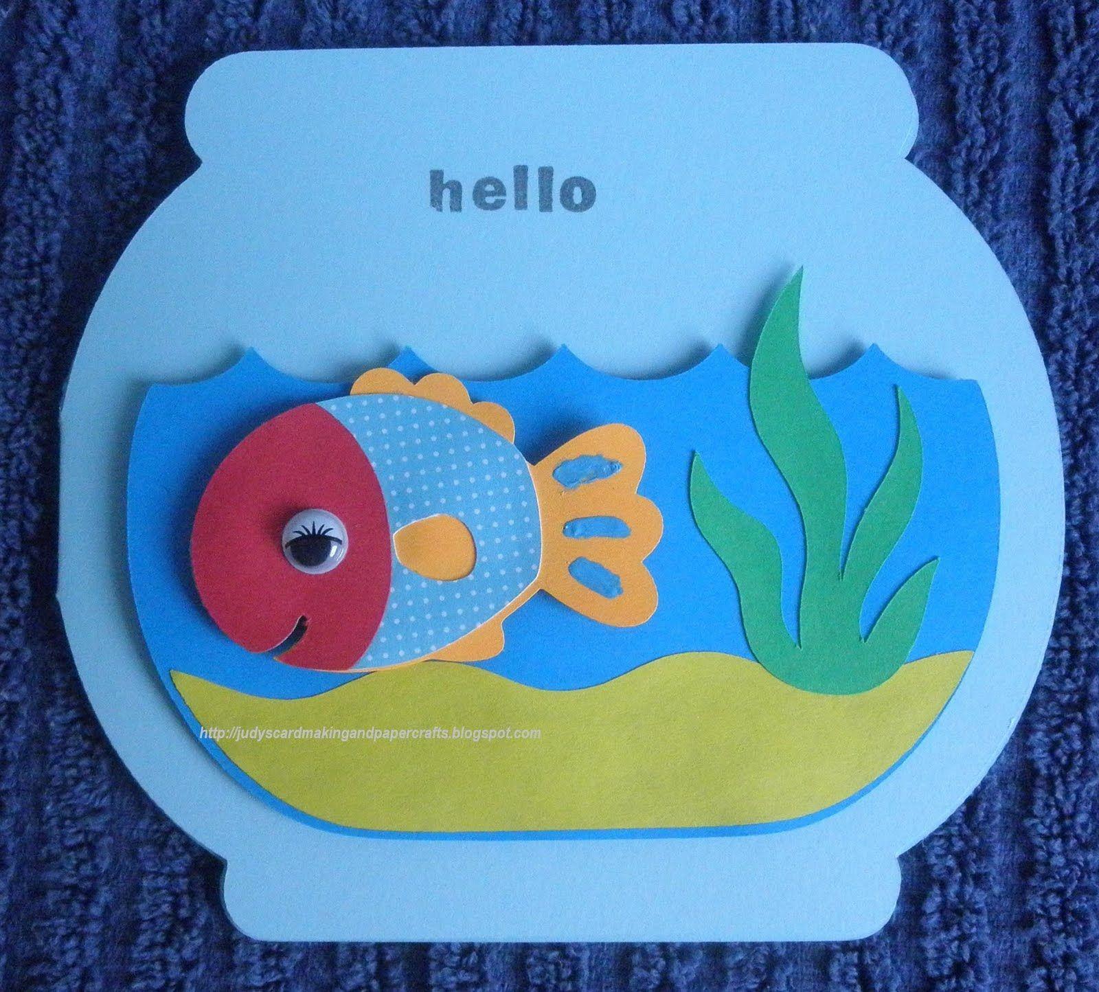 Printable Fish Bowl Outline