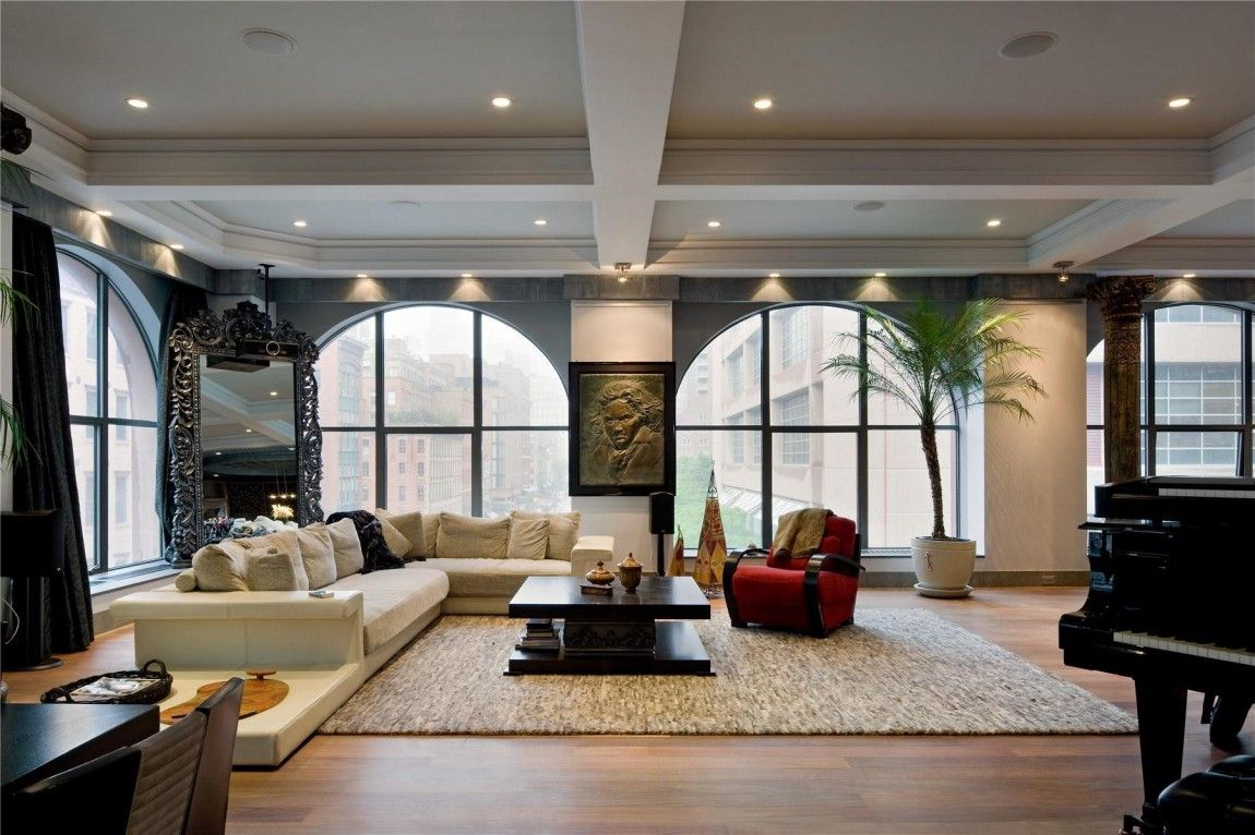 sofa warehouse nyc milan 2 seater set two beautiful lofts for sale in tribeca, new york city ...