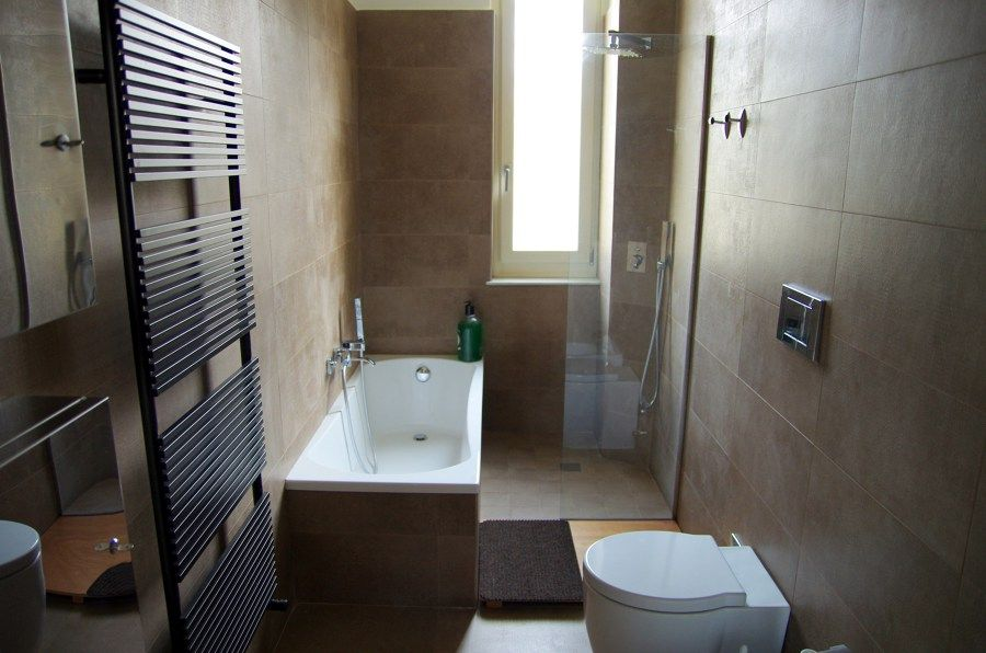 RIFACIMENTO BAGNO CON DOCCIA E VASCA  kupatilo  Pinterest