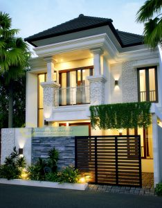 House elevation also jasa arsitek desain rumah bapak indro architecture pinterest rh