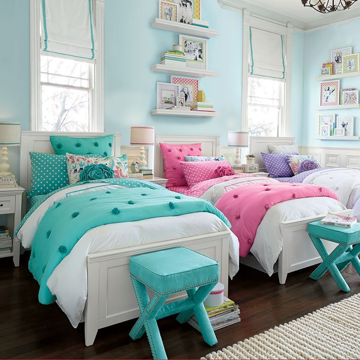 cute girls room  Cute Twin Bedrooms  Pinterest  Room Girls and Bedrooms