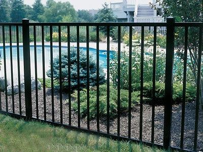 Secured Metal Fencing For Gardens Fence Ideas Fencing And Pool