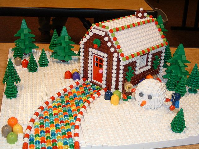 LEGO GingerBread House Lego Gingerbread And Legos