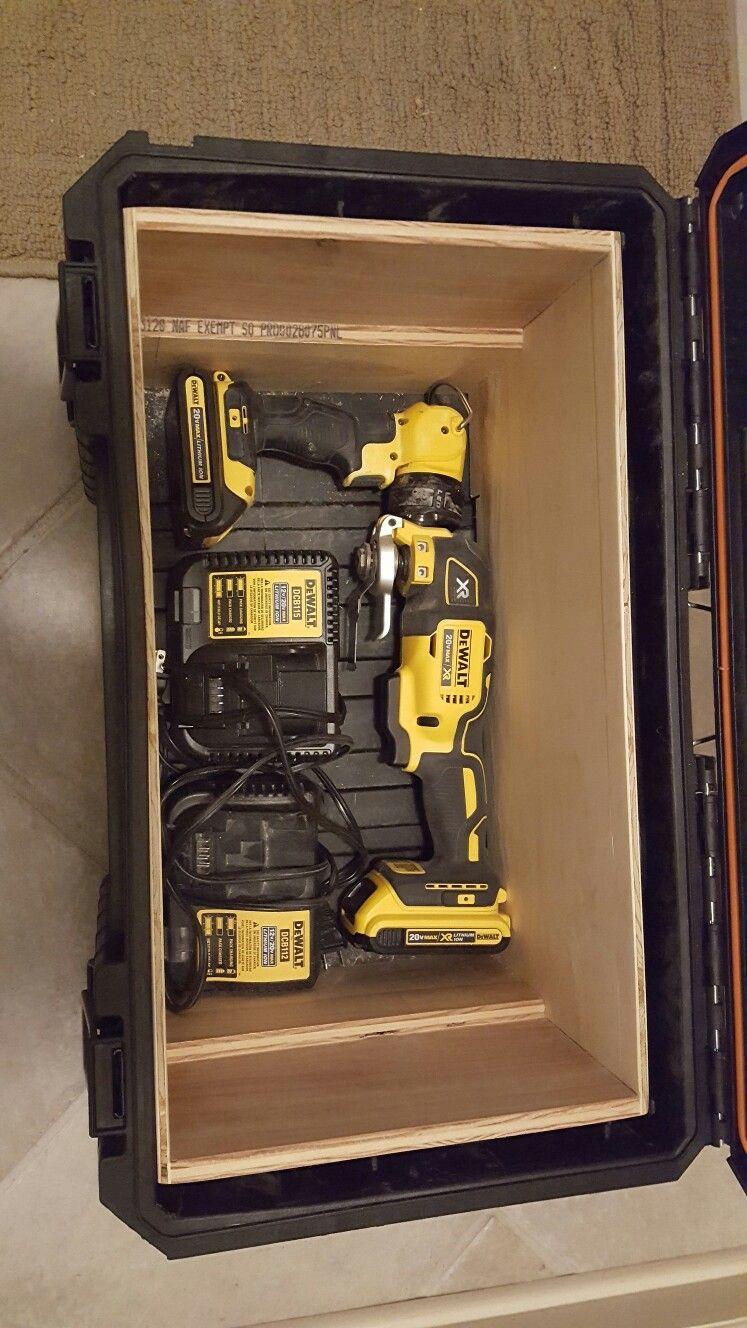 Tool Plans Box Portable