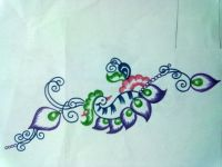 Hand Painting Designs On Fabric | www.imgkid.com - The ...