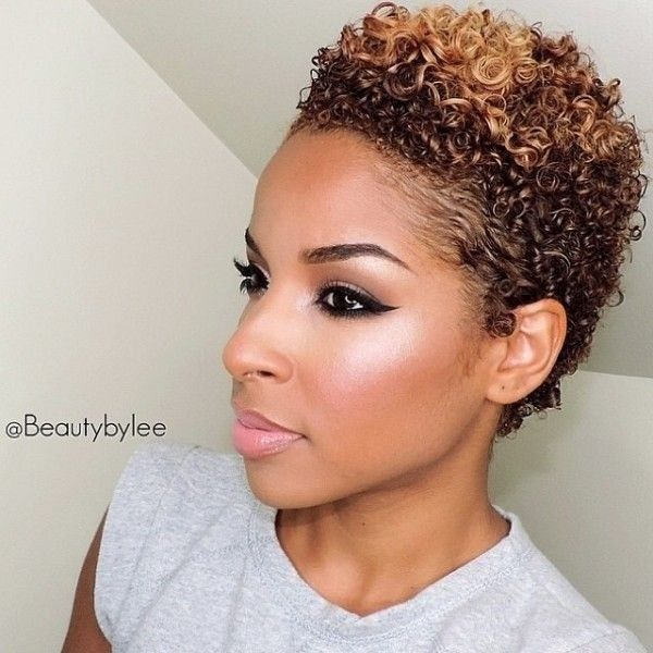 10 Trendy Short Haircuts For African American Women & Girls TWA