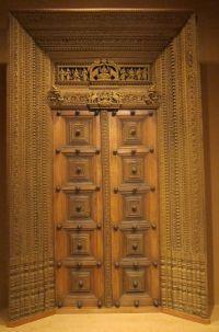 Antique wooden carved door.   Intricate INDIA   Pinterest ...