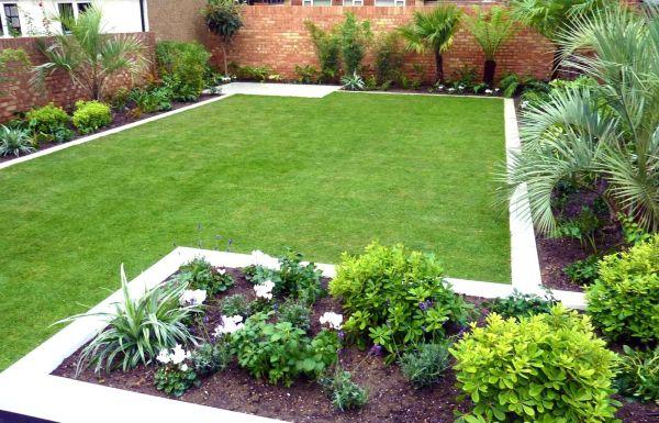 simple garden design fret small