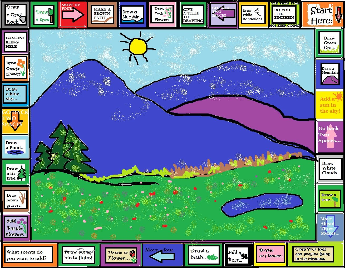 Art Therapy Meditation Game Play By Yourself And Feel A