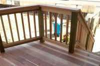 Wood Deck Railing Design Ideas Visit more Deck Railing ...