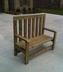 2X4 Furniture Plans Bench